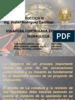 VOLADURA TÚNELES HIDRÁULICOS