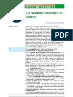 Secteur Bancaire Au Maroc