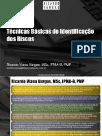 Ricardo Vargas Tecnicas Basicas Identificacao Riscos Ppt Pt