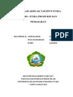 Etika Bisnis Cover