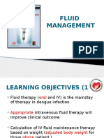7. Fluid Therapy in Dengue