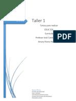 Taller 1 Educ 501