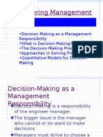 1 - Decision Making