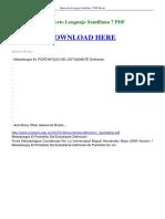 Hipertexto Lenguaje Santillana 7