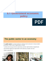 Government Economic Policy