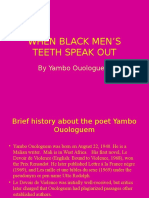 When Black Men's Teeth Speak Out Hummm15