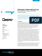Case Study 4 SuccessFactors Dentsply