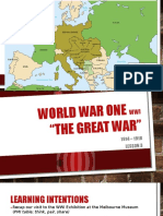 wwi lesson 3  events - no embedded videos