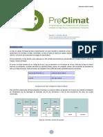 PreClimat Manual 1.2