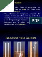 Hydrology LectureHujan