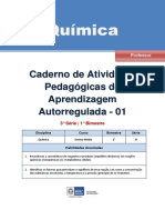 Quimica Regular Professor Autoregulada 3s 1b