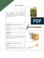 Materiales y Herramientas Utilizados en Construccion
