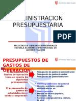 Presupuesto de Gastos de Operaciones