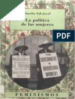 Amelia Valcárcel - La política de las mujeres.pdf
