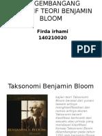 Pengembangang Kognitif Teori Benjamin Bloom