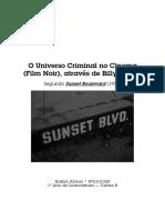 Sunset Boulevard — Filme Noir