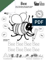 Jolly Phonics Bee Colouring Sheet.pdf