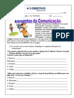 6º - Elementos Da Comunicação