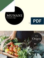 Presentación de Munani
