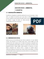 Degradacion Socio Ambiental 2da. Parte