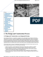 Reading 10 - The Design and Construction Process