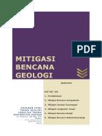 Mitigasi Bencana Geologi