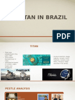 Launching Titan in Brazil