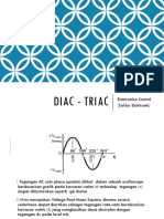 05 DIAC TRIAC Elektronika Kontrol