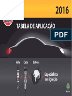Catalogo Velas e Cabos Automotivos Ngk 2016