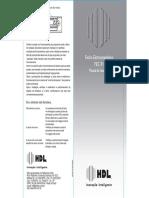 Manual Fecho Elétrico HDL