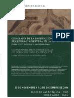 """Workshop """"Géographie des conserveries de poissons dans l'Antiquité. Entre Atlantique et Méditerranée"""""""