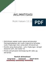 Case 3 Aklimatisasi