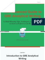 Crunchprep Com GRE Analytical Writing Guide