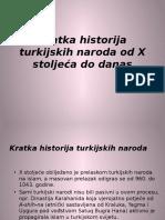 Lekcija 3 - Kratka Historija Turkijskih Naroda Od X Stoljeca Do Danas