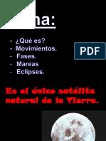 Ciclo Fases Luna Eclipses y Mareas