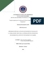 Implementación de las técnicas de gestión en TI basada en la norma ISO/IEC 20000