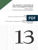 Tropicos Sensuais a Construc3a7c3a3o Do Brasil Como Geografia Desejada Otavio Sacramento