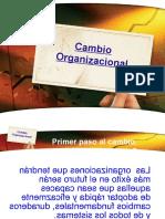 Cambio Organizacional