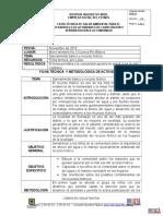 Ficha Tecnica de Saneamiento Basico y Recurso Hidrico