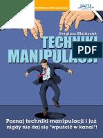 Techniki Manipulacji - Sergiusz Kizińczuk Full