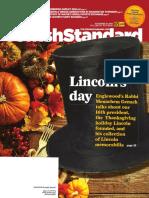 Jewish Standard, November 25, 2016
