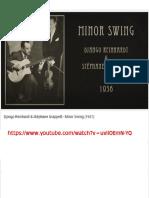Django Reinhardt - Stéphane Grappelli - Minor Swing (1937)