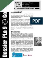 Dossier Pla 9 - Codi 39