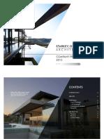 StarkeyOlivierArchitects 2015 Company Profile
