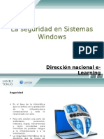 Unidad 2, 1.- La Seguridad en Sistemas Windows