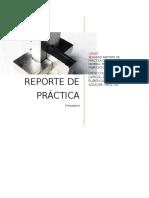 Reporte Practica Fresa