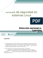 Unidad 2, 2.- Niveles de Seguridad en Sistemas Linux