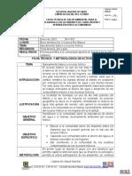 Ficha Tecnica de Saneamiento de Enero2015 Carlos (1)