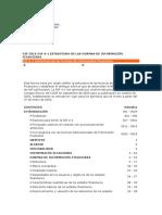NIF a-1 Estructura de Las NIF.