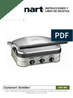 Cuisinart Gr-4n Español